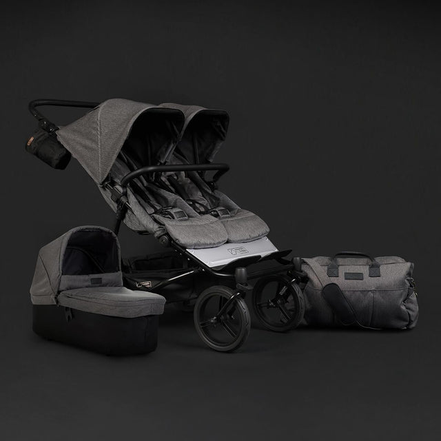 Mountain-Buggy-duet-luxury-collection-in-herringbone-comes-with-carrycot-plus-and-satchel_herringbone