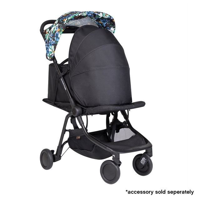 mountain buggy nano travel buggy in year of rat colour with newborn cocoon accessory_year of rat