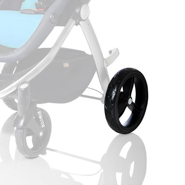 mountain buggy cosmopolitan 4 wheel luxury compact stroller rear wheel_black