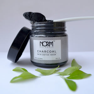 Norm Naturals CHARCOAL - Activated Charcoal Mask with Tea Tree Oil - Norm Naturals