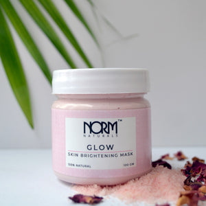 Norm Naturals GLOW - Rose Clay Face Mask for Glowing Skin - Norm Naturals