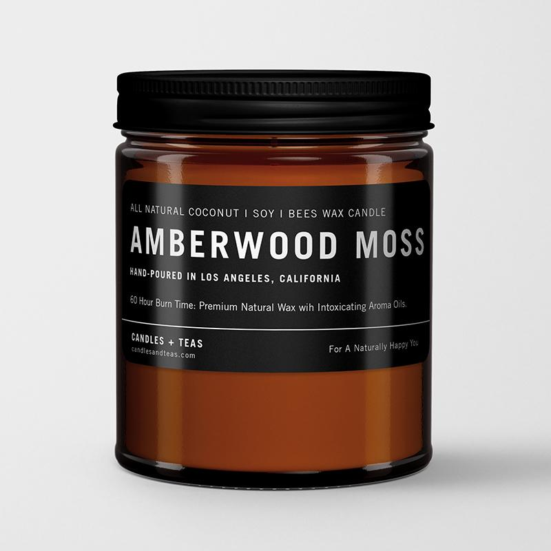 Amberwood Moss Soy Wax Candle | RitualElement