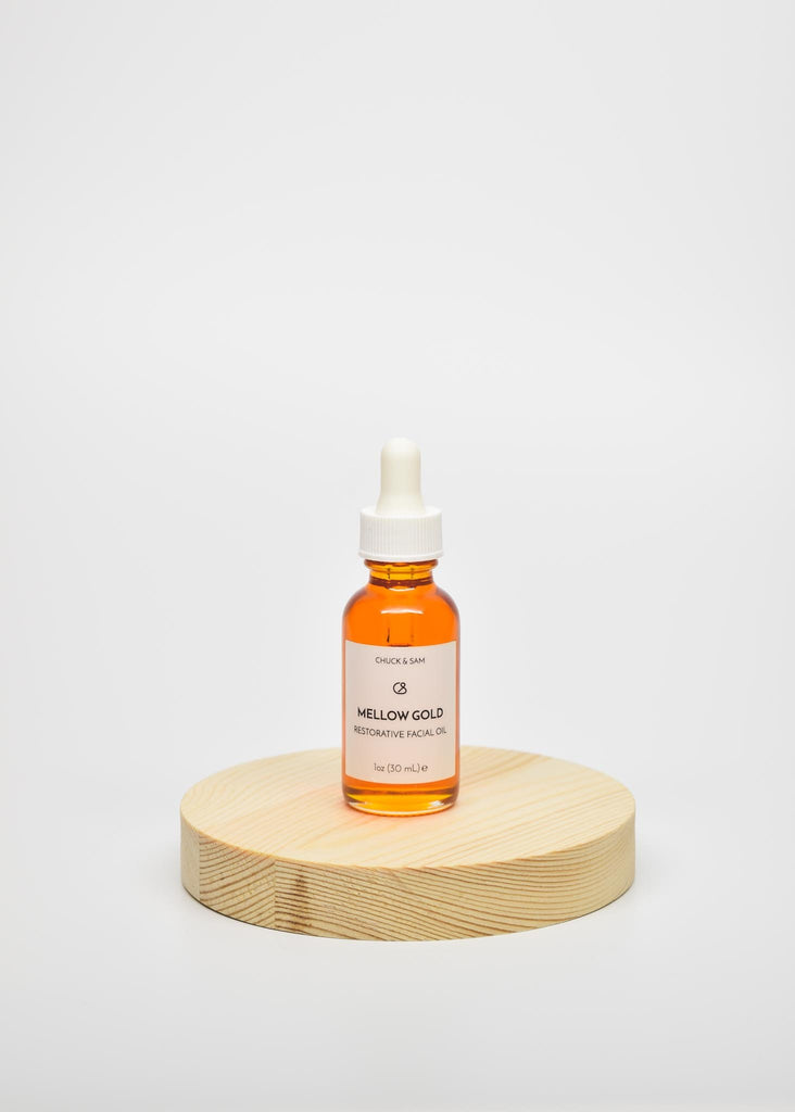 Mellow Gold Rosehip + Vitamin C Face Oil | RitualElement