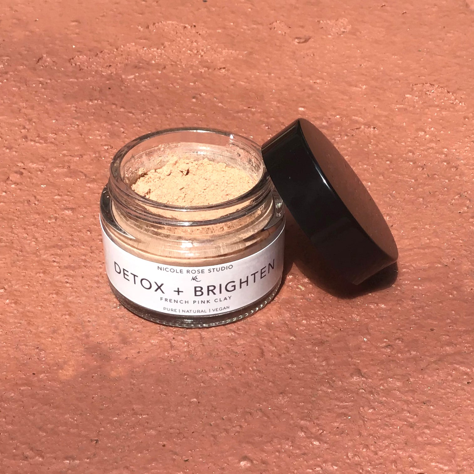 Detox + Brighten French Pink Clay Mask | RitualElement