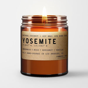Open image in slideshow, Yosemite Bergamot Soy Wax Candle | RitualElement