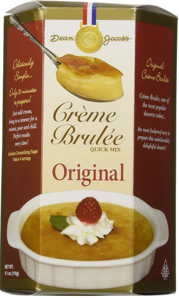 Dean Jacob's Creme Brulee Quick Mix