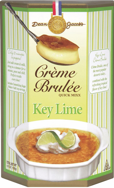 Dean Jacob's Key Lime Creme Brulee Quick Mix ~ 4.1 oz.