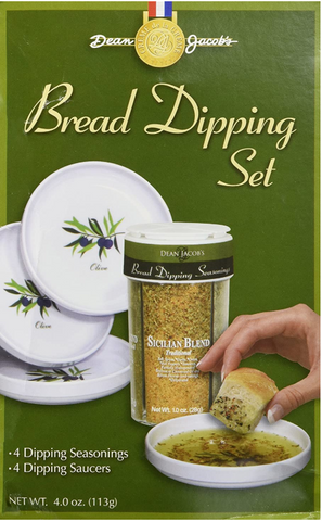 Dean Jacob's 5pc Melamine Bread Dipping Set - 4oz
