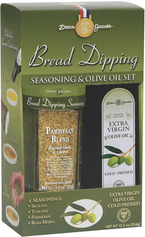Dean Jacob's Bread Dipping Seasonings with Cold Pressed Olive Oil