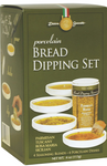 Dean Jacob's Porcelain 5 Piece Bread Dipping Set
