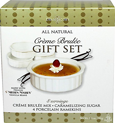 All Natural Crème Brulée Gift Set with Nielsen~Massey Vanilla Bean
