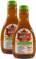 Natural Maple Flavored All-u-Lose Syrup - 22oz Bottle