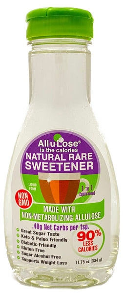 Naturally Sweetened Non-GMO All-u-Lose Syrup - 11.75oz Bottle
