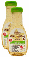 Natural Vanilla Bean flavored Non-GMO All-u-Lose Syrup - 11.75oz Bottle