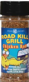 Dean Jacob's Road Kill Grill Chicken Rub