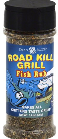 Dean Jacob's Road Kill Grill Fish Rub