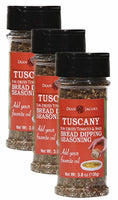 Dean Jacob's Tuscany Bread Dipping Blend, 3.8 Oz Stacking Jar