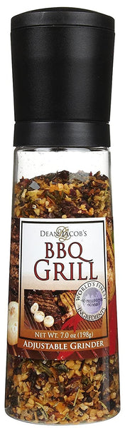 Dean Jacob's BBQ GRILL Chef Size Jumbo Grider 7-Ounce