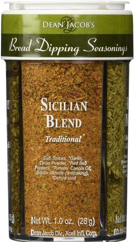 Bread Dipping Seasonings - Dean Jacob's 4 Spice Variety Pack