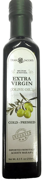 Dean Jacob's Cold Pressed Extra Virgin Olive Oil, 8.5 oz.