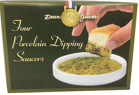 Dean Jacob's Dipping Saucers - Boxed Set of 4