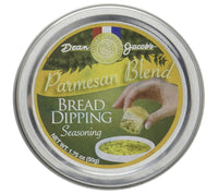 Dean Jacob's Parmesan Blend Bread Dipping Seasoning ~ 1.75 oz. Tin