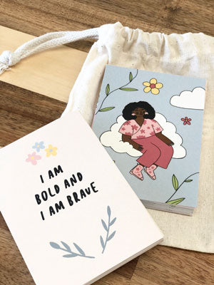 Doolittle Illustrations Self-Care Affirmation Cards