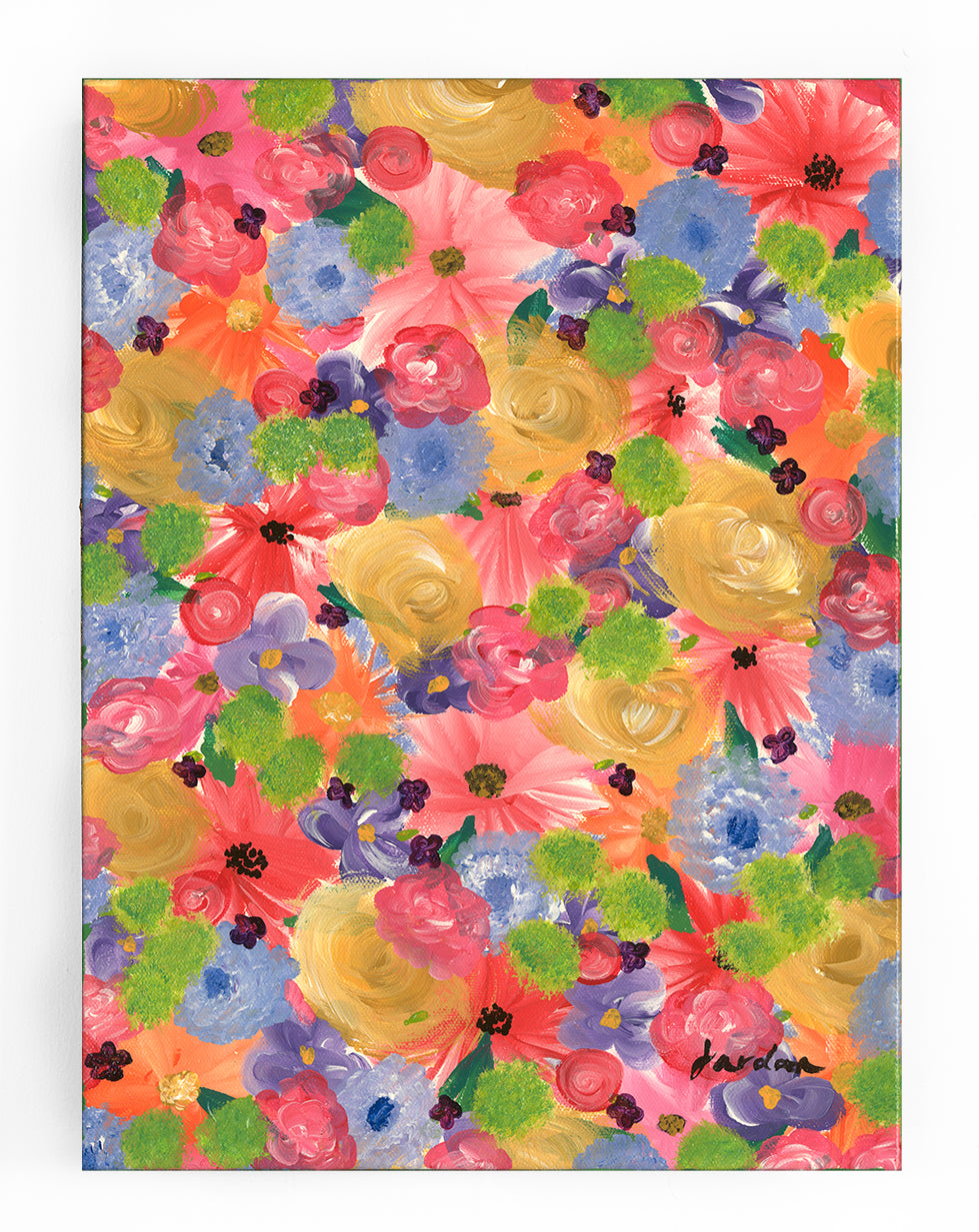 Wildflower Original Painting