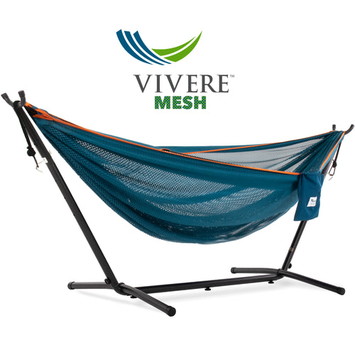 Single Mesh Hammock with Stand