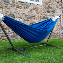 Load image into Gallery viewer, Double Polyester Hammock with Stand Combo