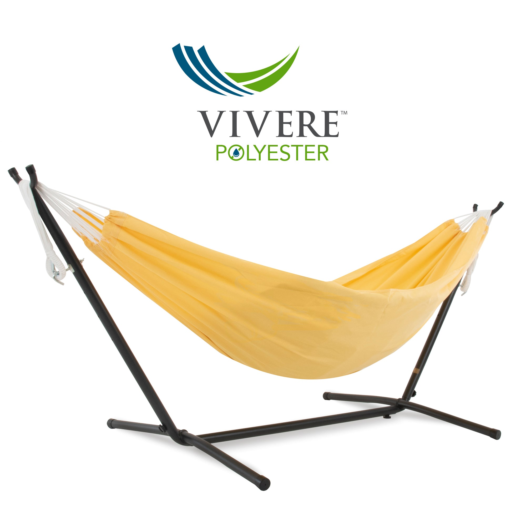 Double Polyester Hammock with Stand Combo – www.shop.vivere.eu