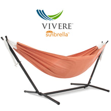 Load image into Gallery viewer, Double Sunbrella® Hammock with Stand Combo (250 cm)