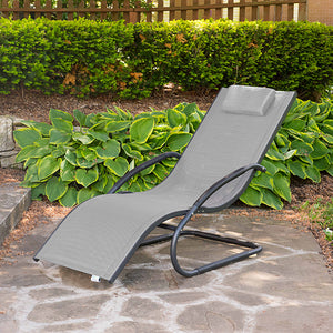 Wave Lounger - Aluminum