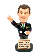 Load image into Gallery viewer, New York Mercantile Exchange Bobblehead Trader - Wall Street Treasures