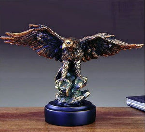 "11.5"" Eagle Statue - Wall Street Treasures"
