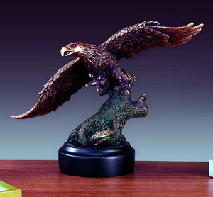 "13"" Soaring Eagle Statue - Wall Street Treasures"