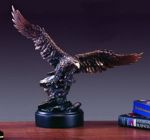 "15"" Soaring Eagle Statue - Wall Street Treasures"