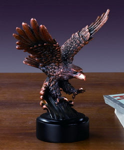 "6"" Hunting Eagle Statue - Wall Street Treasures"