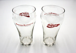 Berkshire Hathaway Coca-Cola Promotional Glass Set - Wall Street Treasures