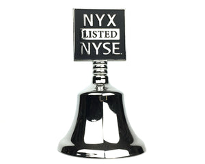NYX NYSE IPO Listing Bell - Wall Street Treasures