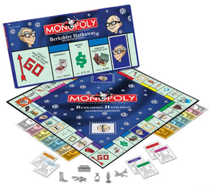 Berkshire Hathaway Diamond Edition Monopoly Game - 2005 - Wall Street Treasures