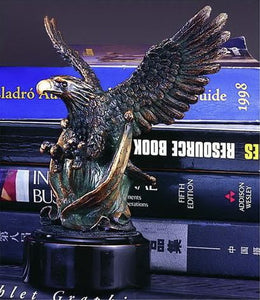 "7"" Hunting Eagle Statue - Wall Street Treasures"