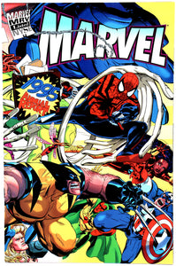 1995 Marvel Comics Annual Report NYSE - Spider-Man - Wall Street Treasures