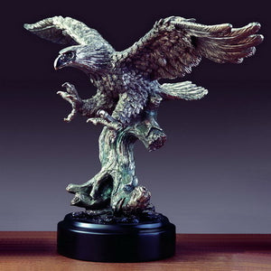 "9.5"" Hunting Eagle Statue - Wall Street Treasures"