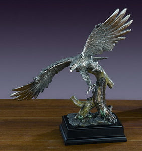 "16.5"" Soaring Eagle Statue - Wall Street Treasures"