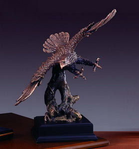 "14"" Flying Eagle Statue - Wall Street Treasures"