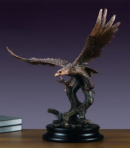 "24.5"" Soaring Eagle Statue - Wall Street Treasures"