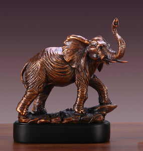 "12.5"" Elephant Statue - Wall Street Treasures"