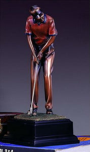 "11"" Putting Golf Statue - Trophy - Wall Street Treasures"