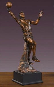 "18.5"" Basketball Player Statue - Trophy - Wall Street Treasures"